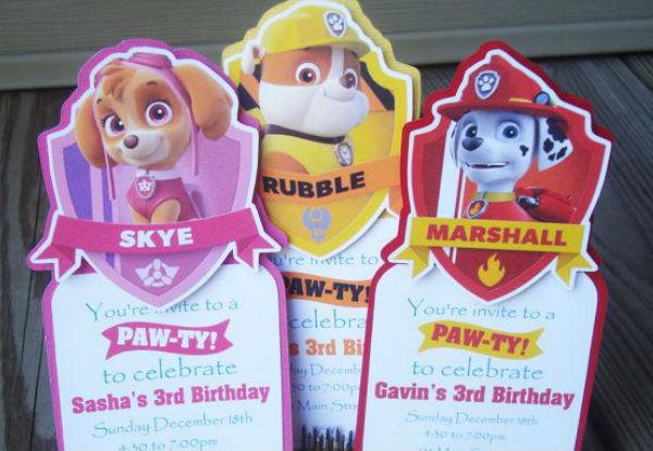 fiesta patrulla canina 1 - 30 ideas para organizar una fiesta de La Patrulla Canina