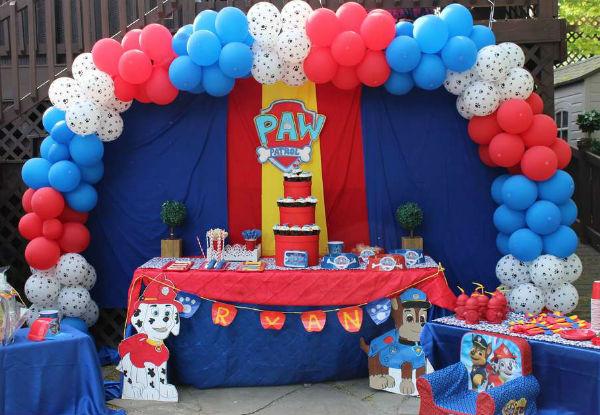 fiesta patrulla canina 4 - 30 ideas para organizar una fiesta de La Patrulla Canina
