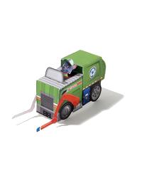 patrulla canina vehiculo rocky - Manualidades