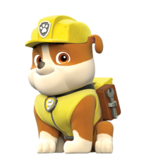 personaje rubble - Los Personajes